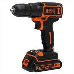 Black and Decker - 18V      400mA   - BDCD18K