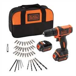 Black and Decker - 108V Lithium Ion          40     - BDCDD121BSA