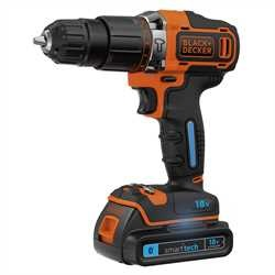Black and Decker - 18V Lithiumion Smart Tech   - BDCHD18KST