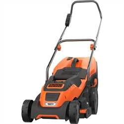 Black and Decker - 1600W 38cm Electric Lawnmower with CompactGo - EMAX38I