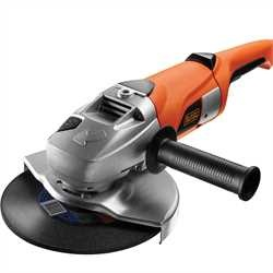 Black and Decker - 2000W 230mm Large Angle Grinder - KG2000K
