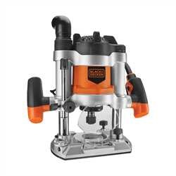 Black and Decker - 1200W 12 Router  11 Accs - KW1600EKA