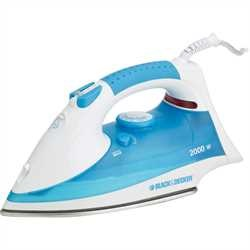Black and Decker - EL 2200W STAINLESS STEEL STEAM IRON - X815