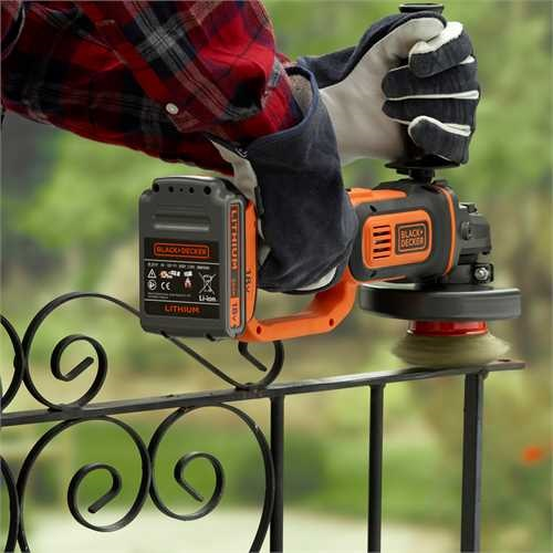 Black and Decker - 18V LIION       - BCG720N