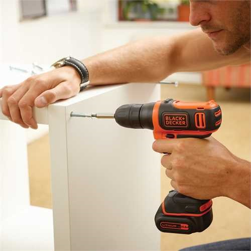 Black and Decker - 108V Lithiumion    - BDCD12K