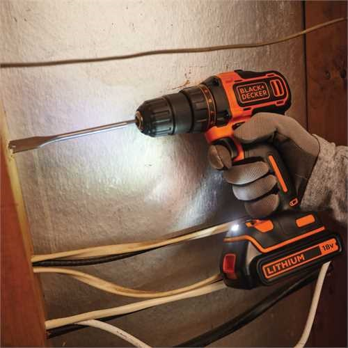 Black and Decker - 18V  2    1A  2  - BDCDD186K1B