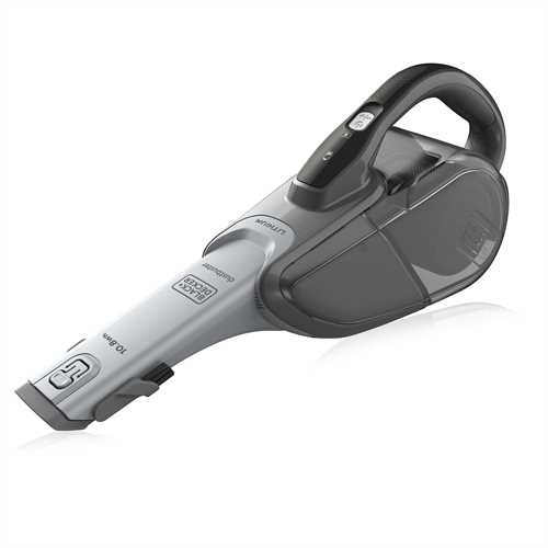 Black and Decker - 108Wh LiIon  Dustbuster  Cyclonic Action - DVJ215B
