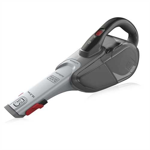 Black and Decker - 162Wh LION     Cyclonic Action - DVJ315B