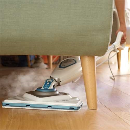 Black and Decker - 1600W steammop - FSM1616