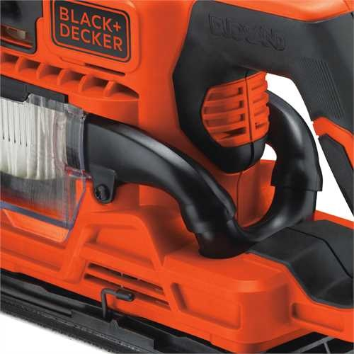 Black and Decker - DUOSAND 270W 13 sheet sander with accessories - KA330E