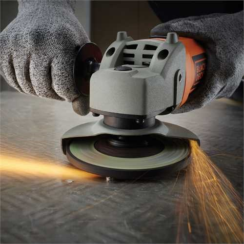 Black and Decker - 750W 115mm Grinder - KG115