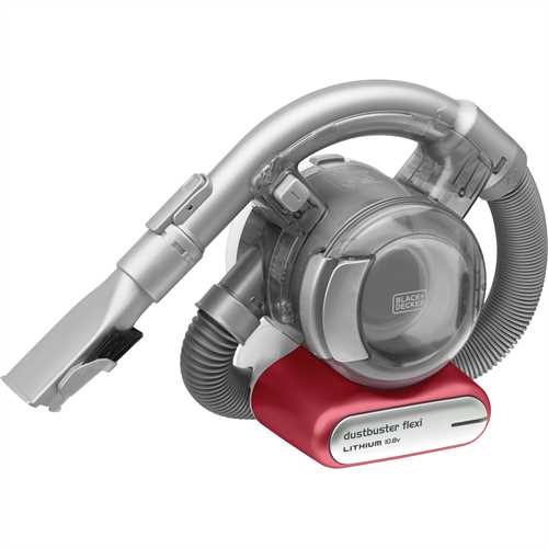 Black and Decker - 108V  LithiumIon Dustbuster Flexi - PD1020L